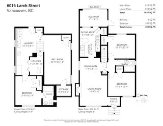 Photo 33: 6016 LARCH Street in Vancouver: Kerrisdale House for sale (Vancouver West)  : MLS®# R2573657