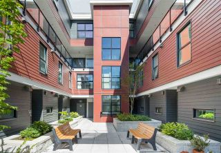 "Photo 34: 102 217 CLARKSON Street in New Westminster: Downtown NW Townhouse for sale in ""Irving Living"" : MLS®# R2545622"