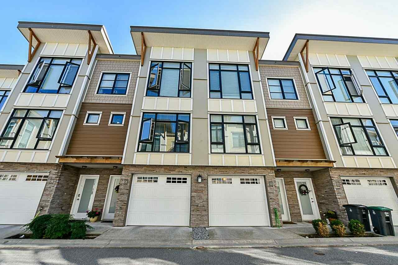 Main Photo: 51 9989 E BARNSTON DRIVE in : Fraser Heights Townhouse for sale : MLS®# R2324811