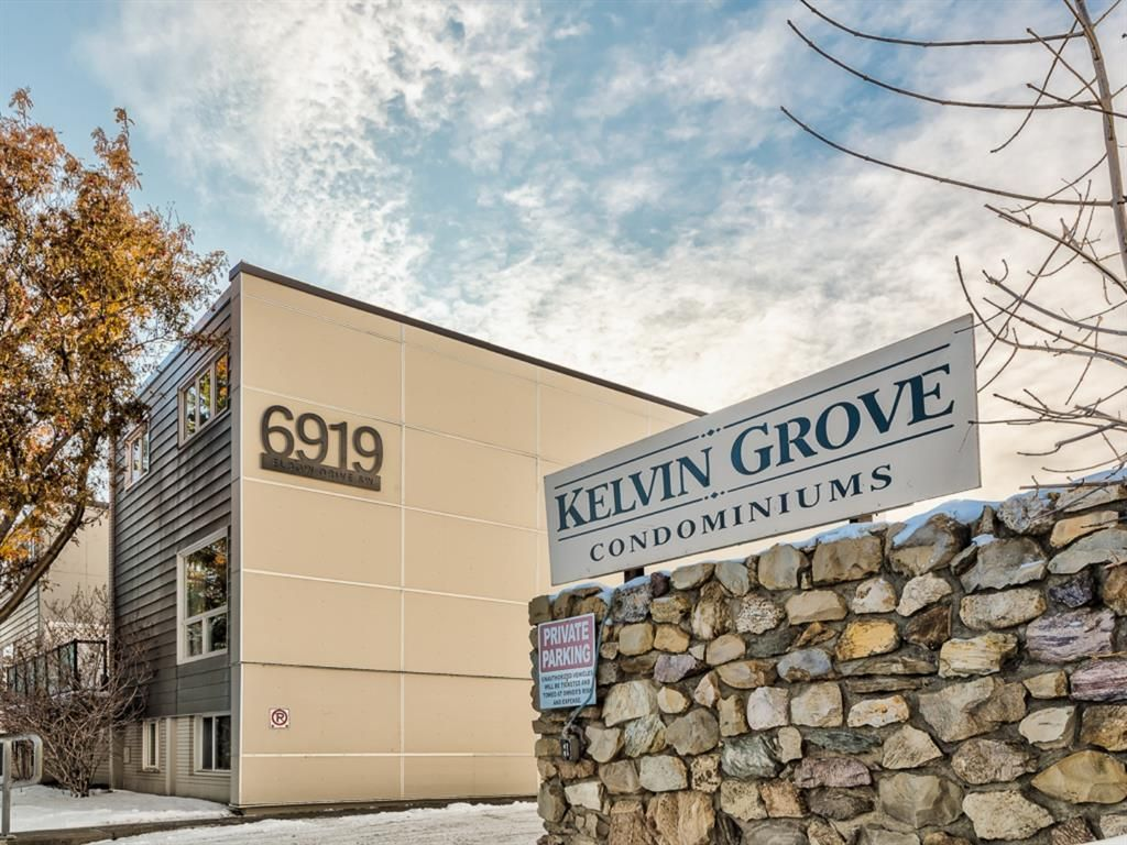 Main Photo: 101 6919 Elbow Drive SW in Calgary: Kelvin Grove Apartment for sale : MLS®# A1052867