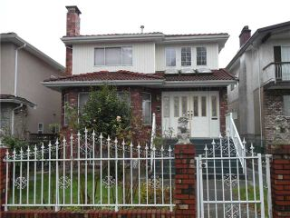 """Photo 1: 1168 E 33RD Avenue in Vancouver: Knight House for sale in """"KNIGHT"""" (Vancouver East)  : MLS®# V922236"""