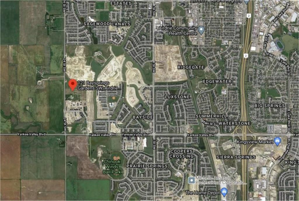 Main Photo: 121 Baysprings Gardens SW: Airdrie Residential Land for sale : MLS®# A1128609