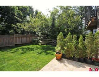 "Photo 10: 21 15075 60TH Avenue in Surrey: Sullivan Station Townhouse for sale in ""NATURE'S WALK"" : MLS®# F2912655"
