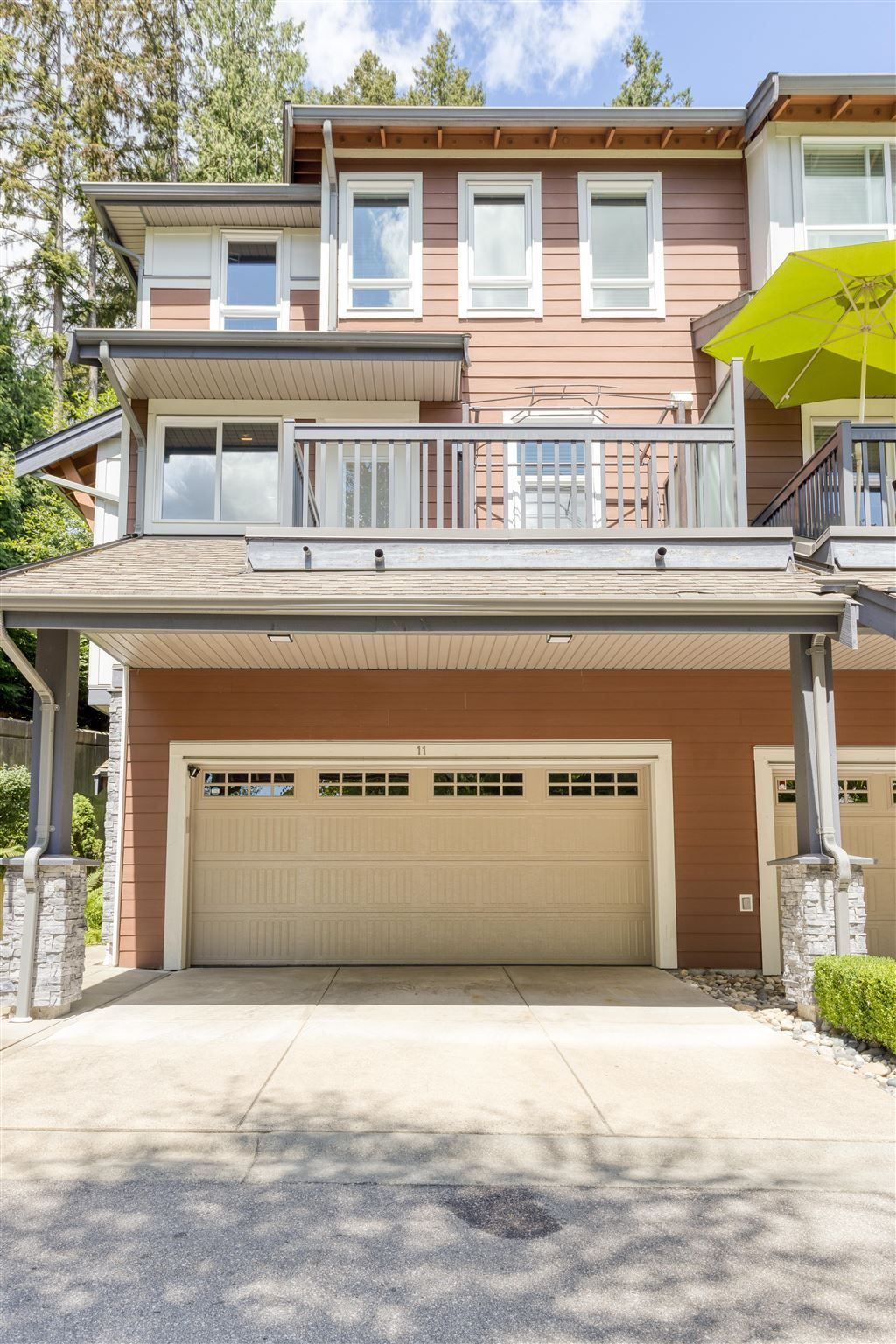 Main Photo: 11 3431 GALLOWAY Avenue in Coquitlam: Burke Mountain Townhouse for sale : MLS®# R2603520