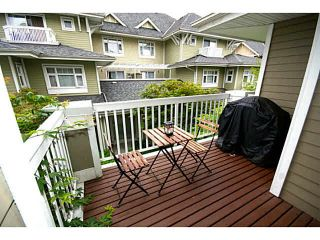 "Photo 1: 30 7388 MACPHERSON Avenue in Burnaby: Metrotown Townhouse for sale in ""ACACIA GARDENS"" (Burnaby South)  : MLS®# V1125482"