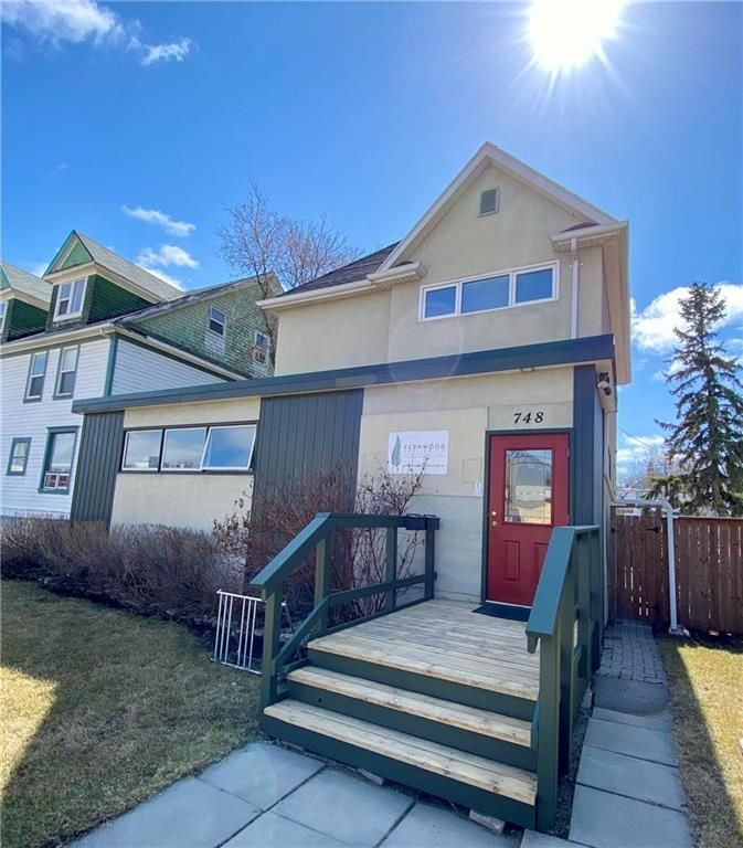 Main Photo: 748 Broadway Avenue in Winnipeg: Wolseley Residential for sale (5B)  : MLS®# 202110525
