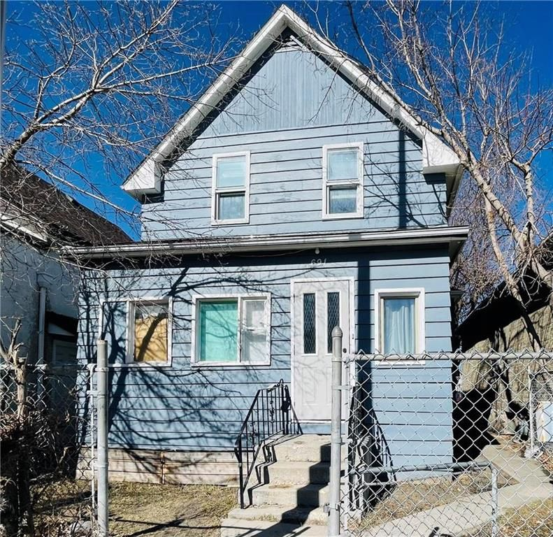 Main Photo: 691 Selkirk Avenue in Winnipeg: North End Residential for sale (4A)  : MLS®# 202107222