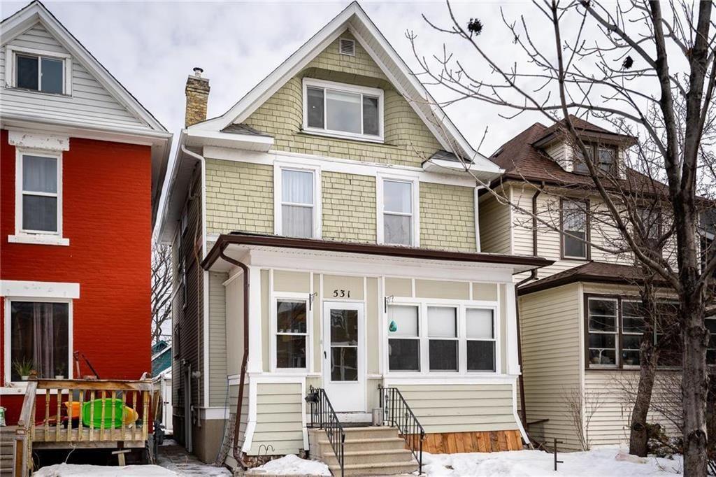 Main Photo: 531 Telfer Street in Winnipeg: Wolseley Residential for sale (5B)  : MLS®# 202103916