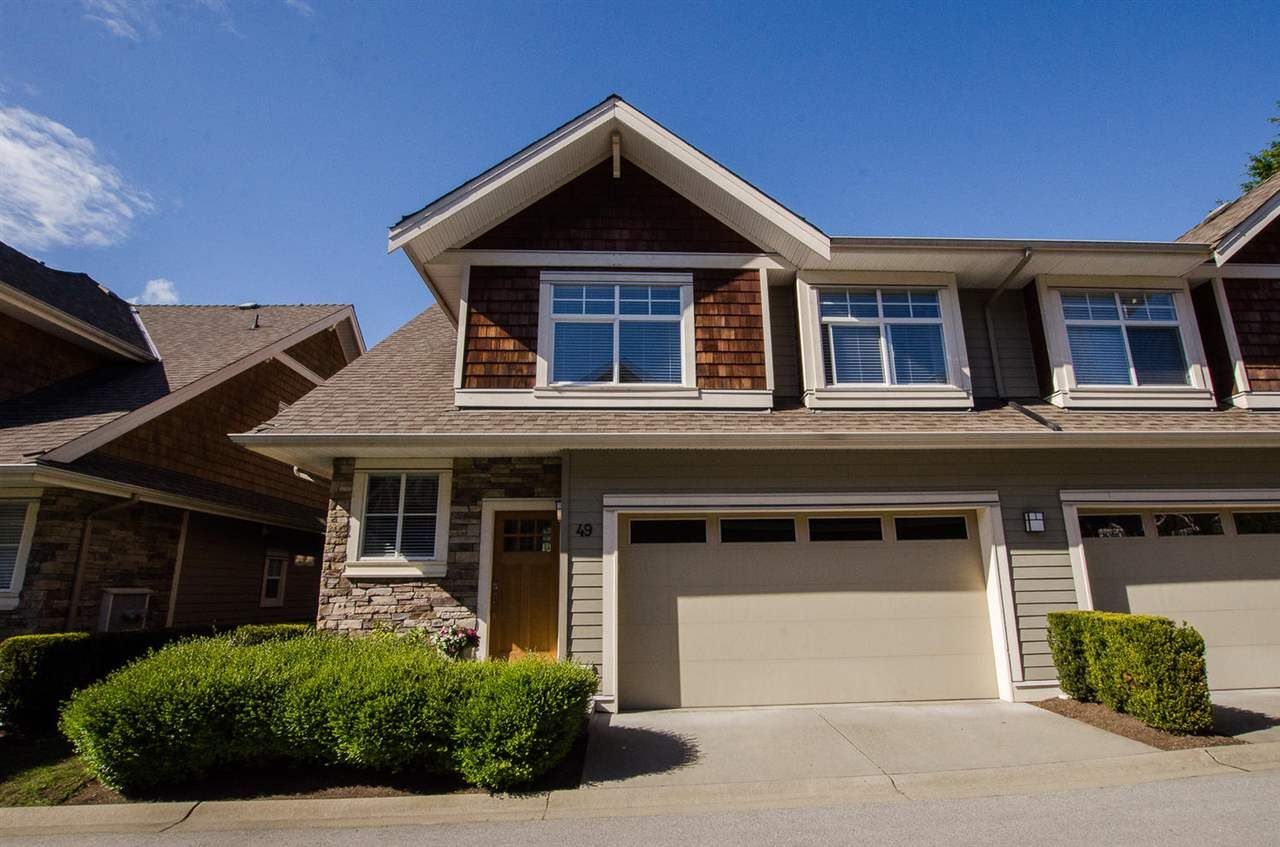 """Main Photo: 49 2453 163RD Street in Surrey: Grandview Surrey Townhouse for sale in """"Azure"""" (South Surrey White Rock)  : MLS®# R2158810"""