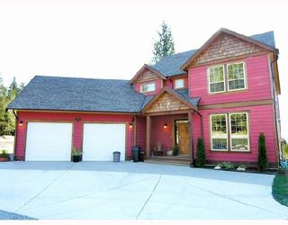 """Photo 1: 1345 CHASTER Road in Gibsons: Gibsons & Area House for sale in """"CHASTER PLACE"""" (Sunshine Coast)  : MLS®# V658536"""