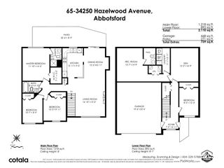 """Photo 40: 65 34250 HAZELWOOD Avenue in Abbotsford: Abbotsford East Townhouse for sale in """"Still Creek"""" : MLS®# R2557283"""