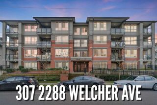 "Photo 1: 307 2288 WELCHER Avenue in Port Coquitlam: Central Pt Coquitlam Condo for sale in ""AMANTI"" : MLS®# R2541436"