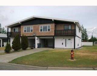 Photo 1: 4204 QUENTIN Avenue in Prince_George: Lakewood Duplex for sale (PG City West (Zone 71))  : MLS®# N193049