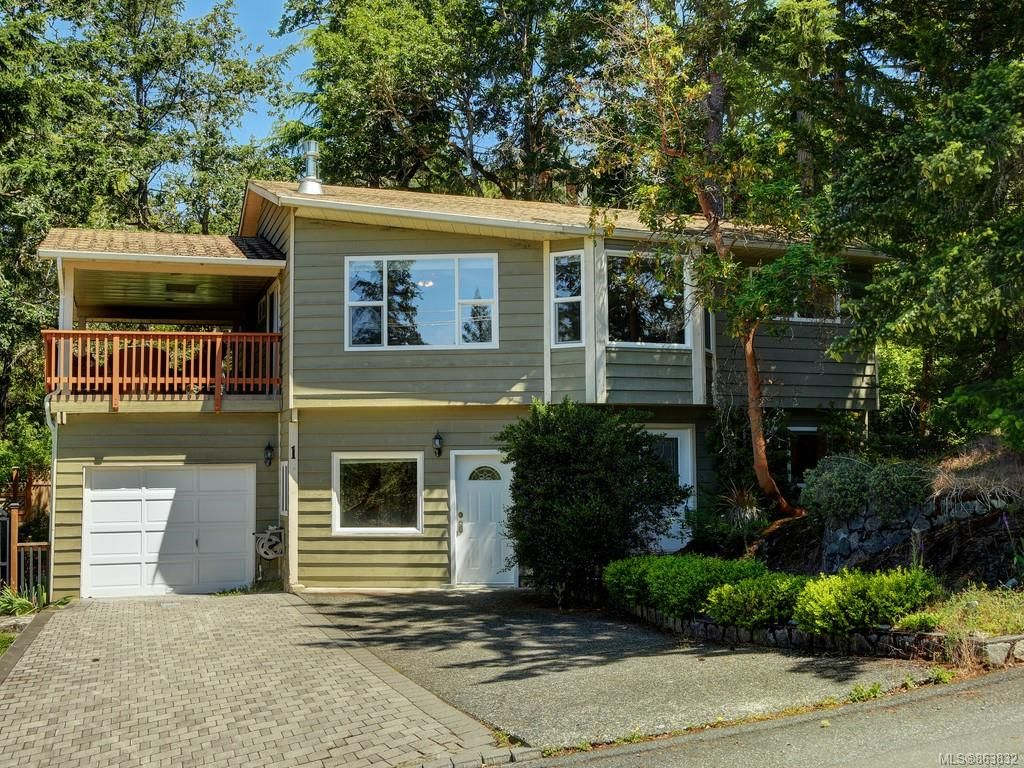 Main Photo: 1 6755 Wallace Dr in : CS Brentwood Bay House for sale (Central Saanich)  : MLS®# 863832