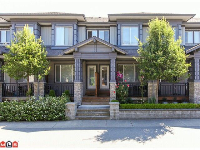 "Main Photo: 5 18701 66TH Avenue in Surrey: Clayton Townhouse for sale in ""ENCORE"" (Cloverdale)  : MLS®# F1220079"