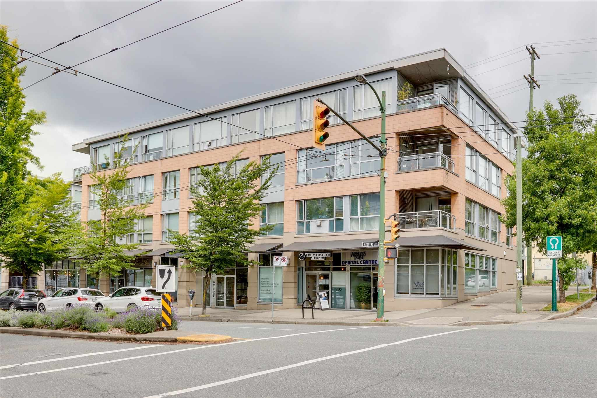 Main Photo: 204 2680 ARBUTUS Street in Vancouver: Kitsilano Condo for sale (Vancouver West)  : MLS®# R2594390