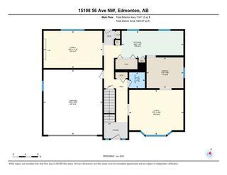 Photo 37: 15108 56 Avenue in Edmonton: Zone 14 House for sale : MLS®# E4248241