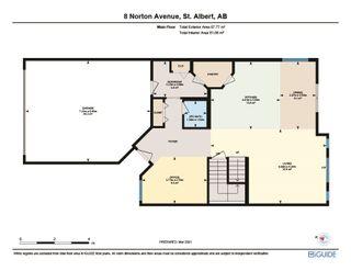 Photo 23: 8 Norton Avenue: St. Albert House for sale : MLS®# E4234594