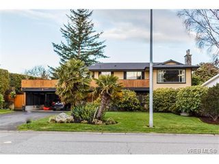 Photo 1: 1891 Hillcrest Ave in VICTORIA: SE Gordon Head House for sale (Saanich East)  : MLS®# 753253