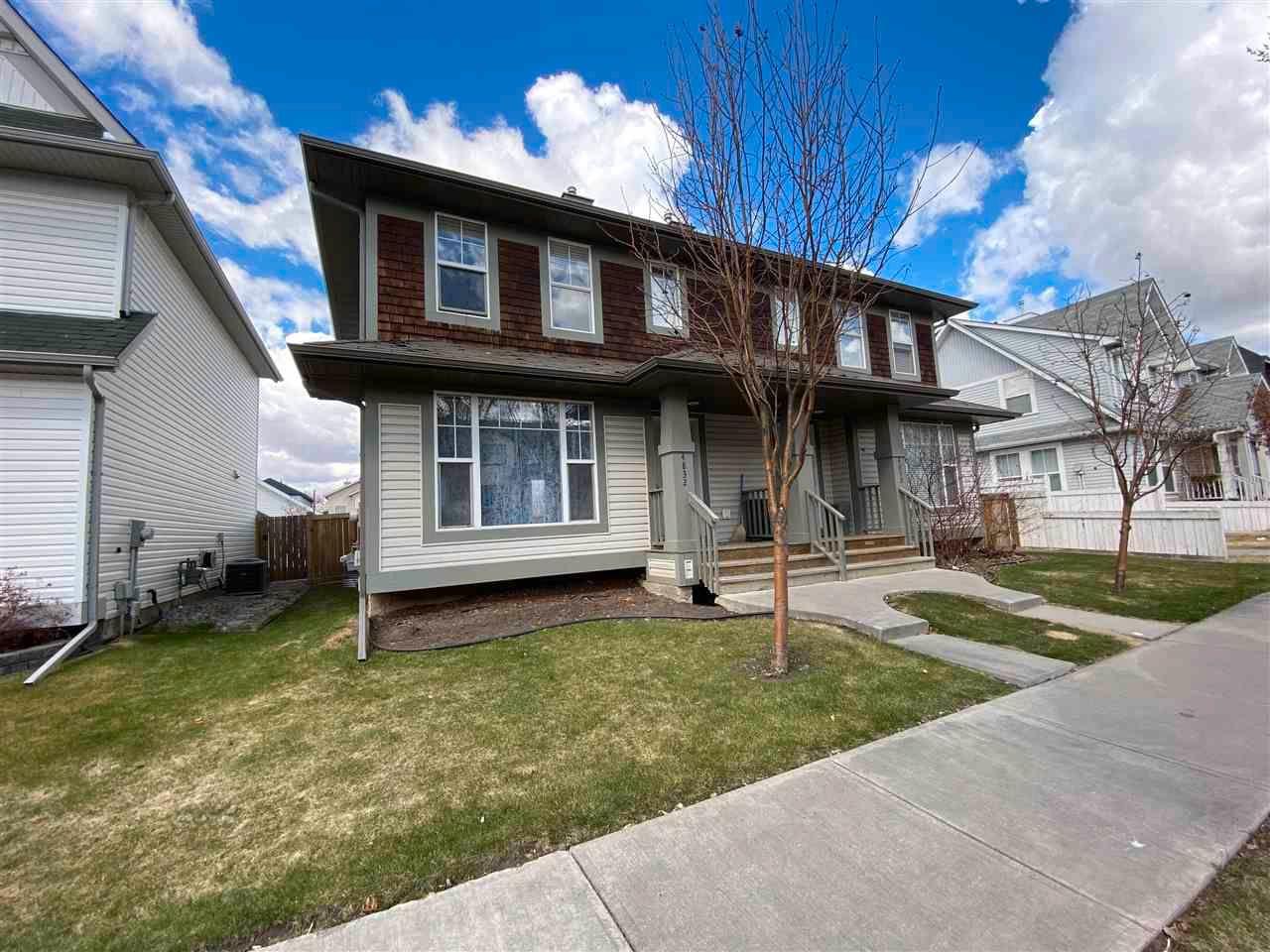 Main Photo: 4832 TERWILLEGAR Common in Edmonton: Zone 14 House Half Duplex for sale : MLS®# E4242855