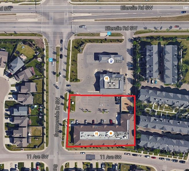 Main Photo: 1109 Summerside Drive SW in Edmonton: Retail for lease
