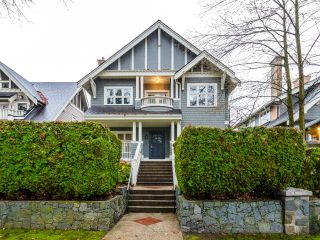 """Photo 1: 322 W 15TH Avenue in Vancouver: Mount Pleasant VW Townhouse for sale in """"Mayor's House"""" (Vancouver West)  : MLS®# R2324549"""