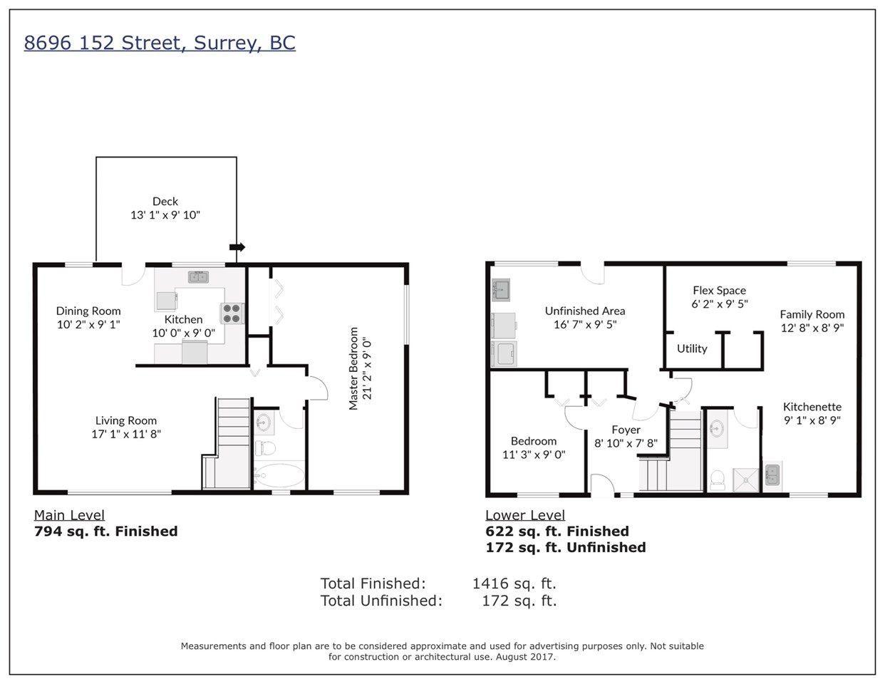Main Photo: 8696 152 Street in Surrey: Fleetwood Tynehead 1/2 Duplex for sale : MLS®# R2223045