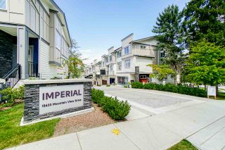 Photo 1: 75 15665 MOUNTAIN VIEW Drive in Surrey: Grandview Surrey Townhouse for sale (South Surrey White Rock)  : MLS®# R2464922