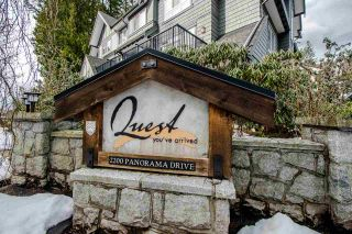 """Photo 2: 80 2200 PANORAMA Drive in Port Moody: Heritage Woods PM Townhouse for sale in """"QUEST"""" : MLS®# R2349518"""