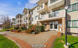 "Photo 1: 218 13911 70 Avenue in Surrey: East Newton Condo for sale in ""CANTERBURY GREEN"" : MLS®# R2548650"