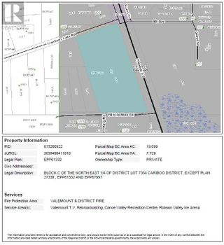 Photo 4: 1105 S 5 HIGHWAY in Robson Valley (Zone 81): Vacant Land for sale : MLS®# C8038838