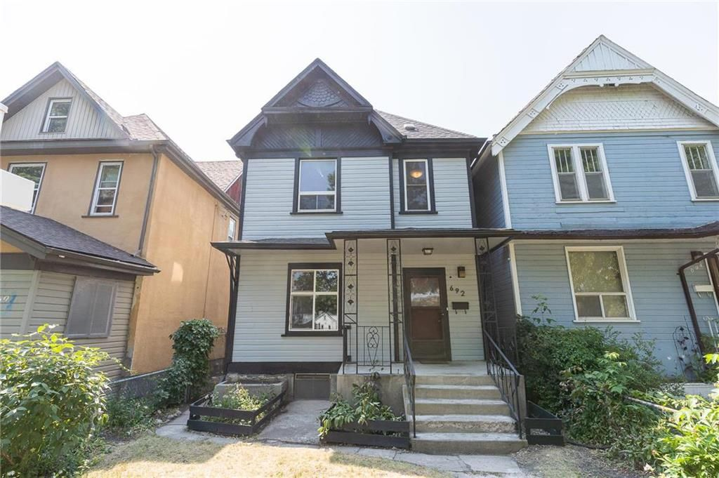 Main Photo: 692 Furby Street in Winnipeg: West End Residential for sale (5A)  : MLS®# 202117061