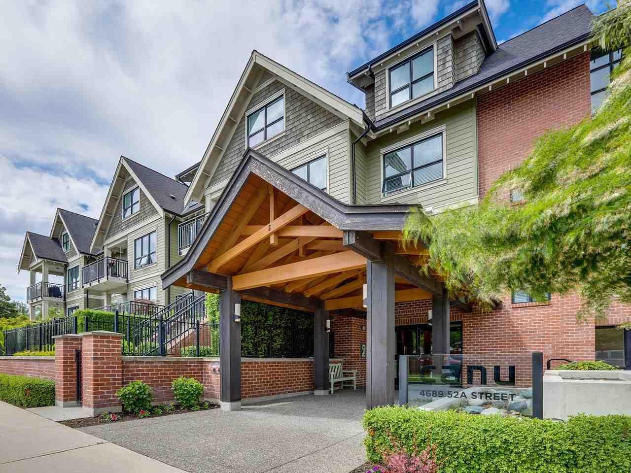"Main Photo: 309 4689 52A Street in Delta: Delta Manor Condo for sale in ""CANU"" (Ladner)  : MLS®# R2463388"