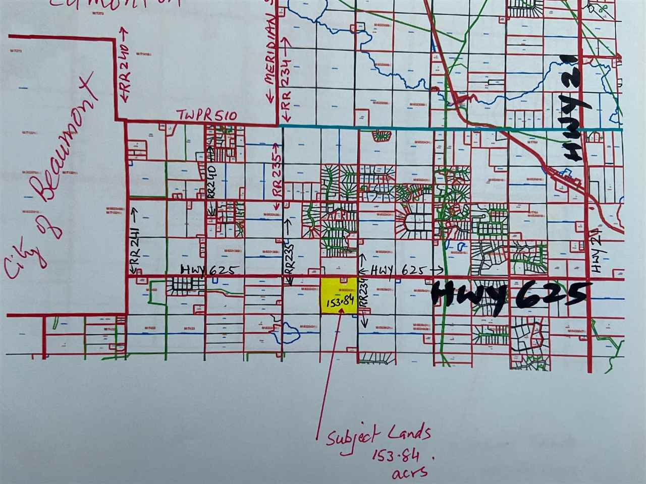 Main Photo: Hwy 625 & RR 234: Rural Leduc County Rural Land/Vacant Lot for sale : MLS®# E4224351