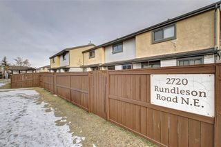 Photo 43: 104 2720 RUNDLESON Road NE in Calgary: Rundle Row/Townhouse for sale : MLS®# C4221687