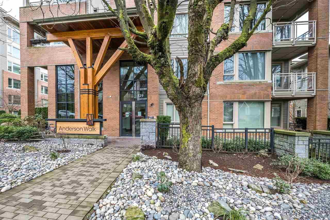 "Main Photo: 105 139 W 22ND Street in North Vancouver: Central Lonsdale Condo for sale in ""Anderson Walk"" : MLS®# R2541204"