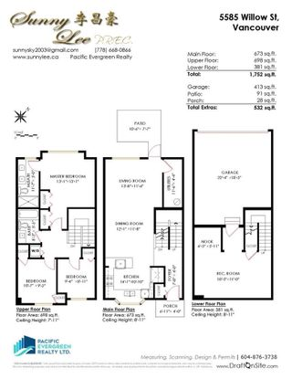 """Photo 33: 5585 WILLOW Street in Vancouver: Cambie Condo for sale in """"WILLOW"""" (Vancouver West)  : MLS®# R2603135"""