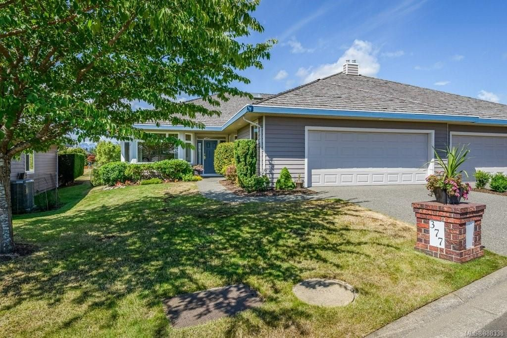 Main Photo: 377 3399 Crown Isle Dr in Courtenay: CV Crown Isle Row/Townhouse for sale (Comox Valley)  : MLS®# 888338
