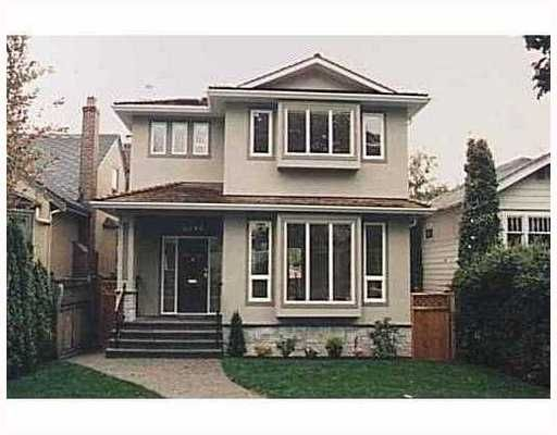 Main Photo: 4218 W 15TH AV in Vancouver: Point Grey House for sale (Vancouver West)  : MLS®# V694407