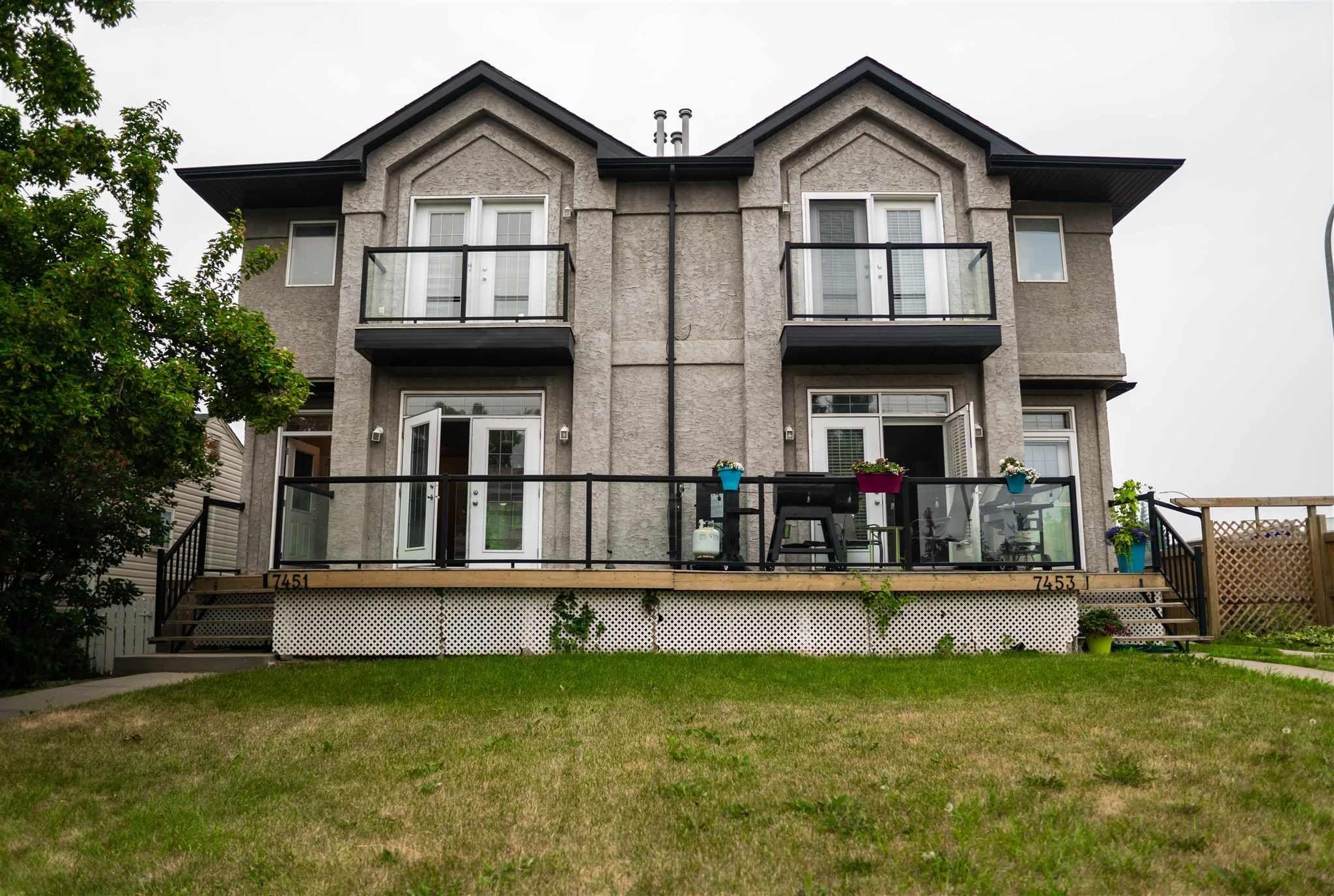 Main Photo: 7451/7453 83 Avenue in Edmonton: Zone 18 House Duplex for sale : MLS®# E4247994