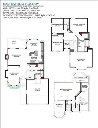 Photo 45: 152 STRATHLEA Place SW in Calgary: Strathcona Park House for sale : MLS®# C4130863