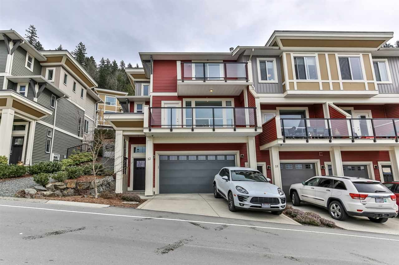 "Main Photo: 12 6026 LINDEMAN Street in Chilliwack: Promontory Townhouse for sale in ""HILLCREST"" (Sardis)  : MLS®# R2547919"