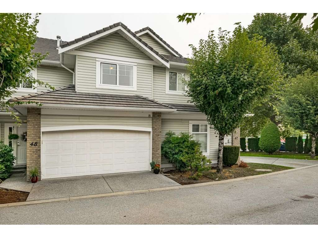 """Main Photo: 48 1290 AMAZON Drive in Port Coquitlam: Riverwood Townhouse for sale in """"CALLAWAY GREEN"""" : MLS®# R2500006"""