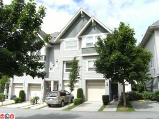 "Photo 1: 48 15065 58TH Avenue in Surrey: Sullivan Station Townhouse for sale in ""SPRINGHILL"" : MLS®# F1116779"
