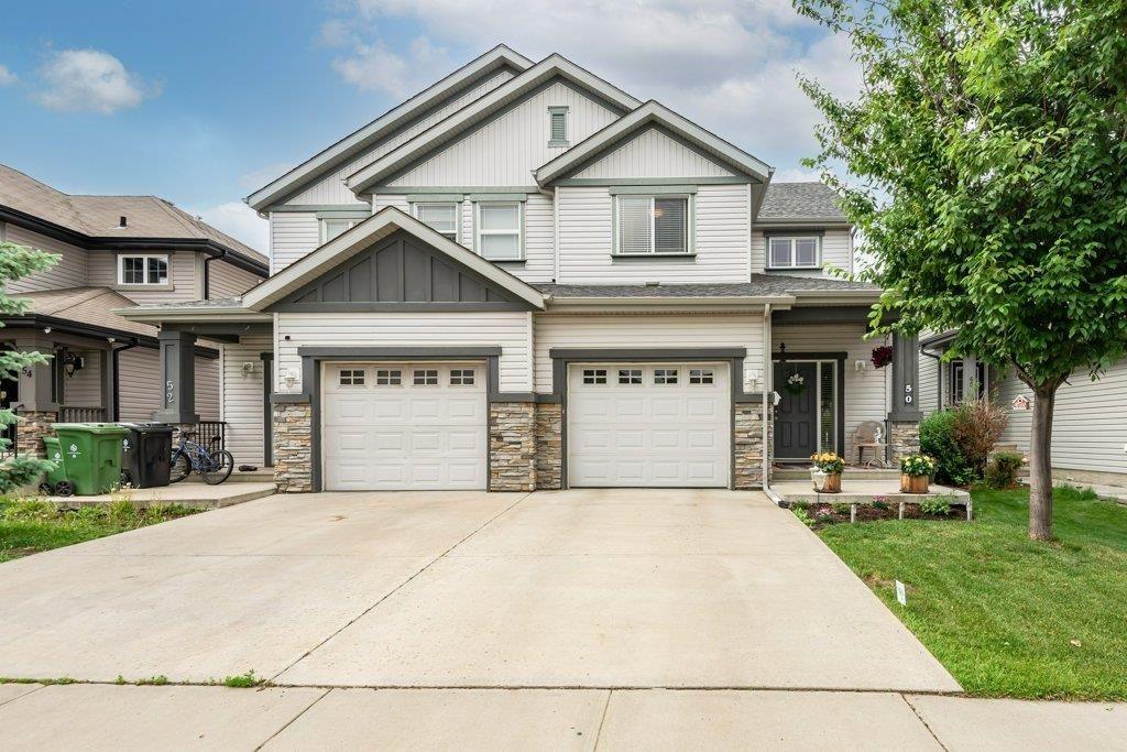Main Photo: 50 CALVERT Wynd: Fort Saskatchewan House Half Duplex for sale : MLS®# E4250145