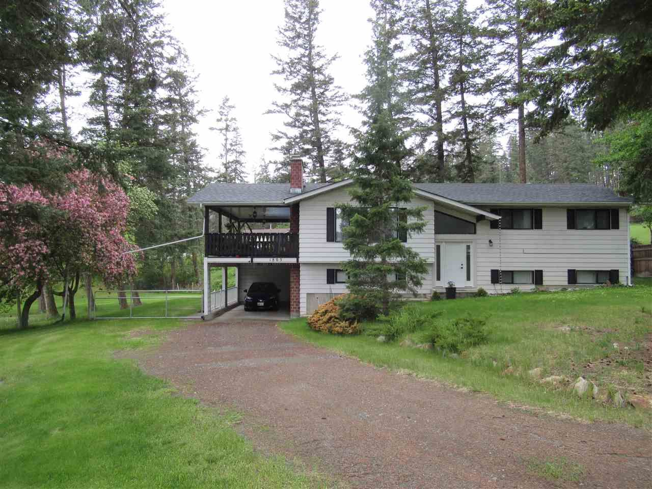 Main Photo: 1805 RANSOME Place in Williams Lake: Williams Lake - Rural North House for sale (Williams Lake (Zone 27))  : MLS®# R2464009