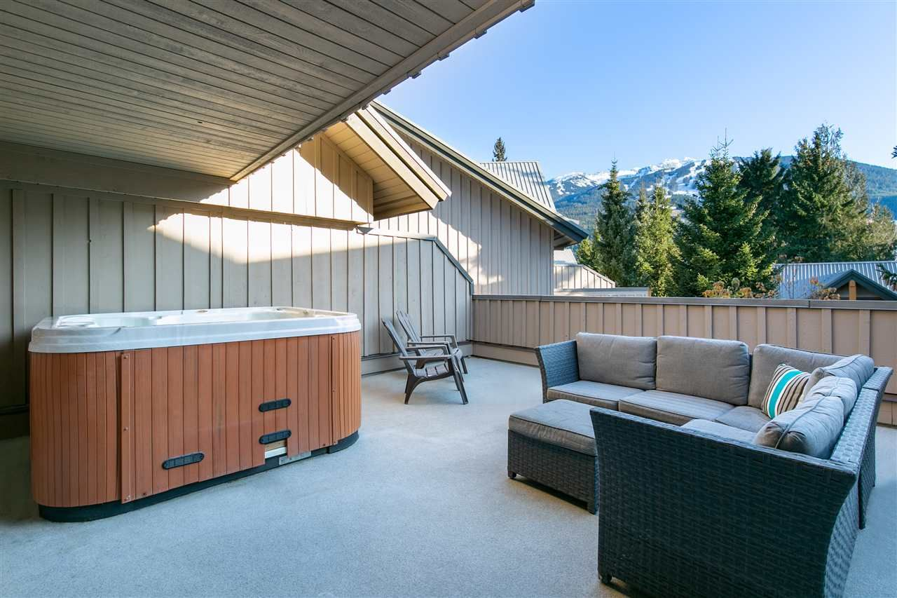 Main Photo: 41/41A 4388 NORTHLANDS BOULEVARD in : Whistler Village Townhouse for sale : MLS®# R2425649