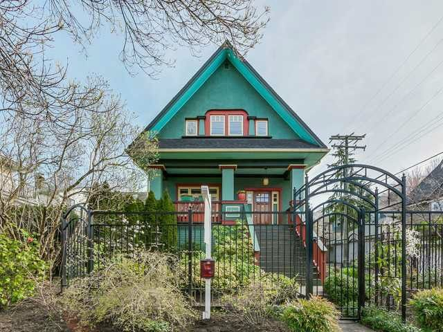 Main Photo: 2806 MANITOBA ST in Vancouver: Mount Pleasant VW House for sale (Vancouver West)  : MLS®# V1119582
