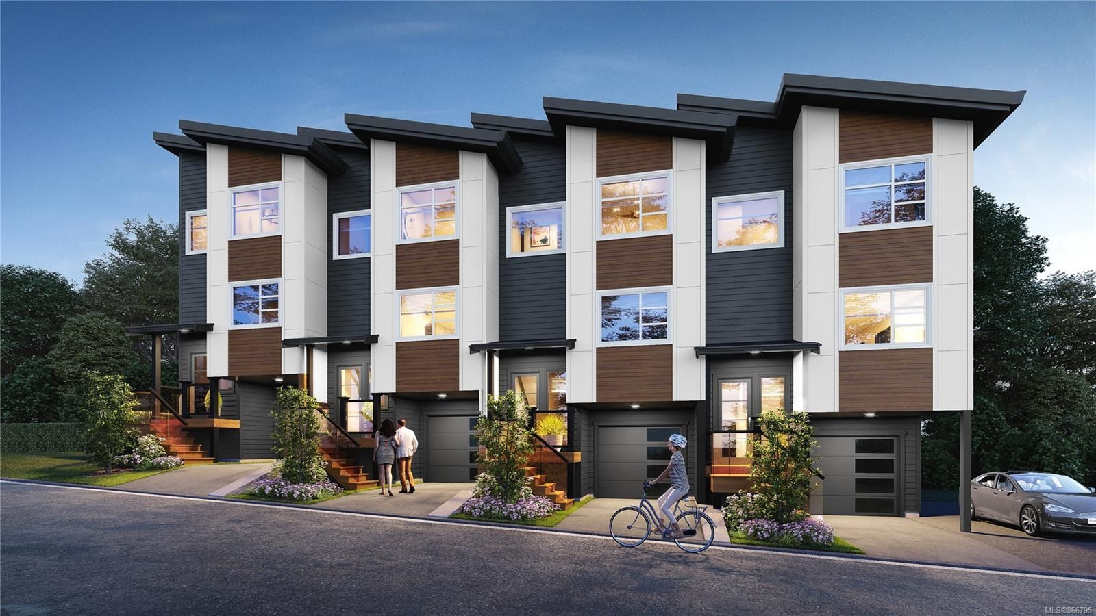 Main Photo: 108 3429 Happy Valley Rd in : La Happy Valley Row/Townhouse for sale (Langford)  : MLS®# 866795