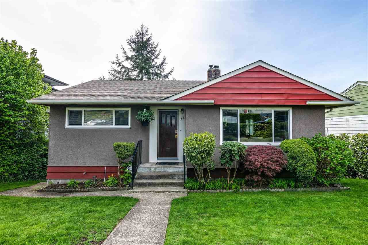 Main Photo: 116 GLOVER Avenue in New Westminster: GlenBrooke North House for sale : MLS®# R2394361